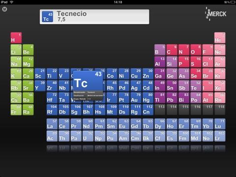 La tabla periodica en tu iphone la tabla peridica en tu dispositivo ios urtaz Image collections
