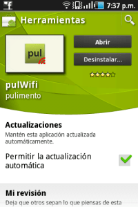 Obtener claves Wifi para Android
