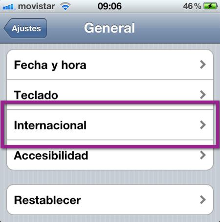 Como cambiar el idioma de dispositivo iOS (iPhone, iPod y iPad) - ajustes-generale