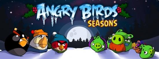 Angry Birds, un juego muy entretenido y adictivo - angry-birds-seasons