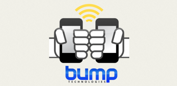 bump logo 590x287 Chócalas y comparte con Bump para iPhone y Android