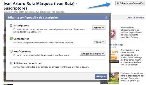 configuracion suscriptores facebook Qué son las suscripciones en Facebook y cómo activarlas en tu perfil