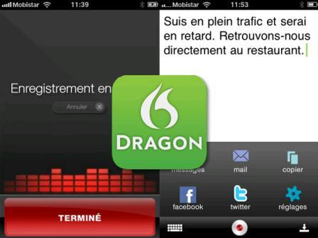 dragon Dragon Dictation, reconocimiento de voz para tu iPhone