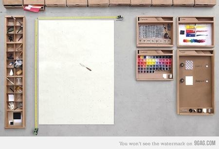 Si Photoshop fuera un escritorio de verdad [Imagen]