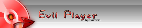 Evil Player, reproductor de audio minimalista - evil_logo