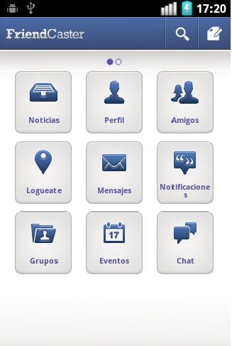 FriendCaster, una mejor experiencia de Facebook en tu Android - friendCaster1