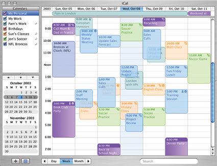 ical Organiza tu vida con iCal para Mac