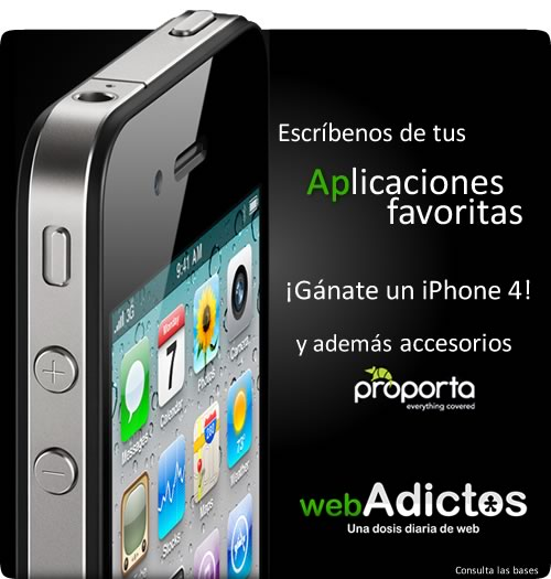 iphone 4 webadictos1 Avances del Concurso para ganar un iPhone 4