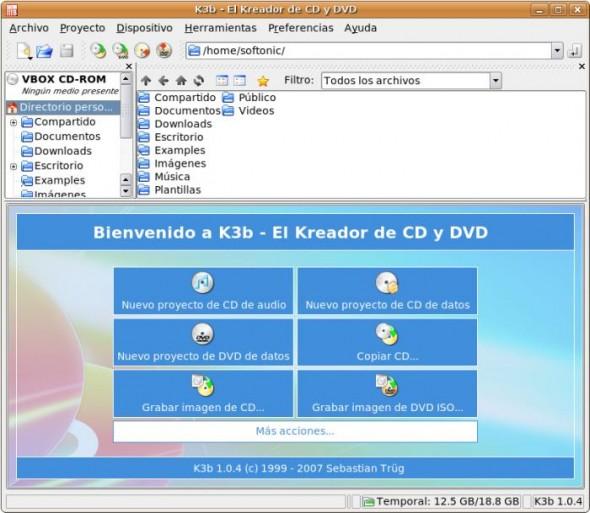 El mejor quemador de discos para Linux, K3B - k3b-590x513