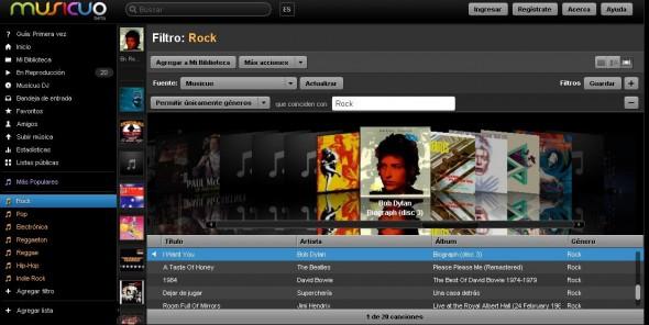 Escucha música en linea gratis con Musicuo - musicuo-2-590x296