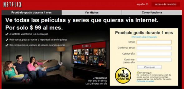 netflix 1 590x285 Cómo usar el mes gratis de Netflix sin tarjeta de crédito