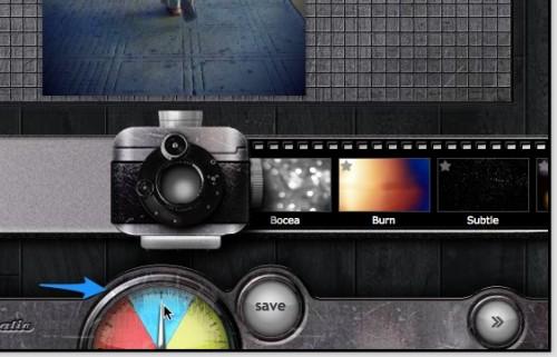 pixlr o matic editar efectos 2 e1317306709526 Pixlr o matic, efectos para tus fotos, de antaño, retro, en linea y gratis [Reseña]