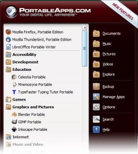 PortableApps, lleva una computadora siempre contigo