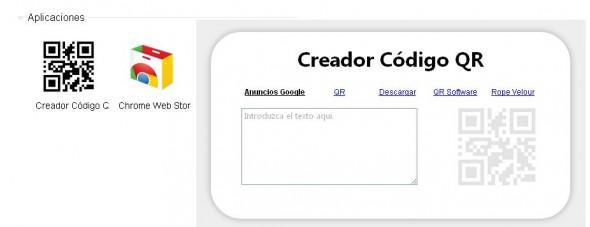 qr chrome 590x227 Crea tus códigos QR desde Chrome