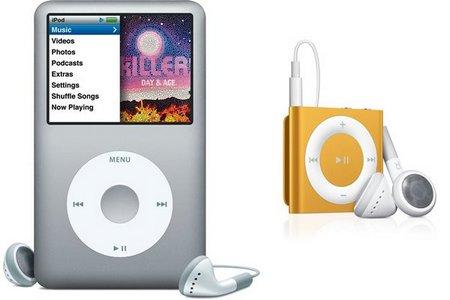 Podrían ser los últimos días del iPod Classic y el iPod Shuffle? - shuffle-classic-ipod