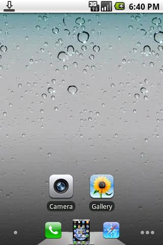 Tema iPhone 4 para tu Android - temas-android-iphone