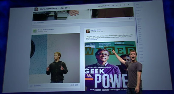Mark Zuckerberg presenta el nuevo Timeline de Facebook - zuckerberg-timeline-f8
