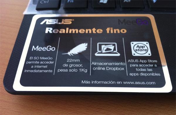 ASUS Eee PC con Meego 7 Asus Eee PC X101H con sistema operativo MeeGo [Reseña]