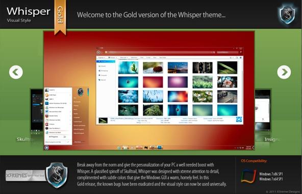 Tres nuevos y sorprendentes temas para Windows 7 - Tema-whisper-windows-7