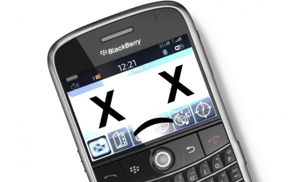BlackBerry logra restaurar su servicio