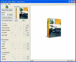 Crea Cajas de Software con 3D Box Shot Maker