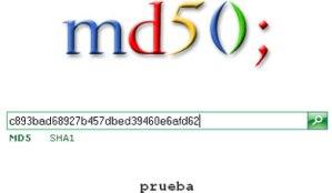 Descifrar Contraseñas MD5