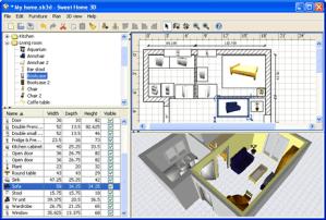 Diseño de interiores con Sweet Home 3D