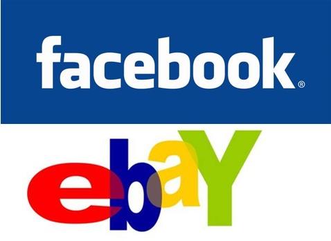 Facebook y eBay se asocian por el comercio electrónico social - ebay-facebook-socios