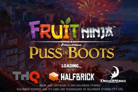 Fruit Ninja: Puss in Boots, la adicción regresa a tu iPhone y iPad [Reseña] - fruit-ninja-puss-in-boots1