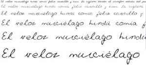 Fuentes Manuscritas Gratis