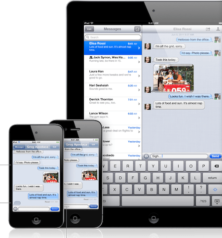 imessage Como configurar iMessage en tu dispositivo con iOS 5