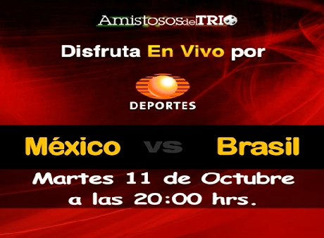 México vs Brasil en vivo, Amistoso 2011 - mexico-brasil-en-vivo-amistoso-2011