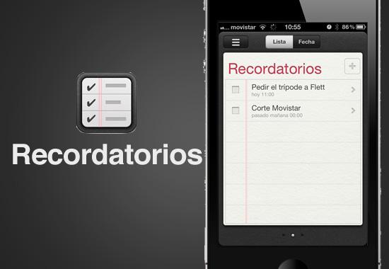 reminders review 1 Que nada se te olvide con Recordatorios para iOS 5 [Reseña]