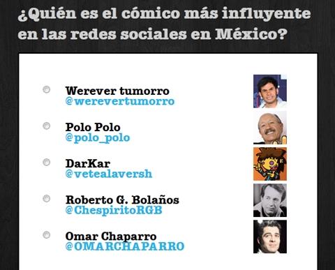 social media awards 2011 comedia Social Media Awards 2011, los mexicanos más influyentes en las redes sociales