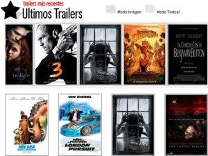 Trailers de peliculas en Trailers.com.mx