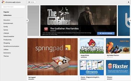 Google lanza nueva versión de Chrome y rediseñada Web Store - webstore-chrome-1