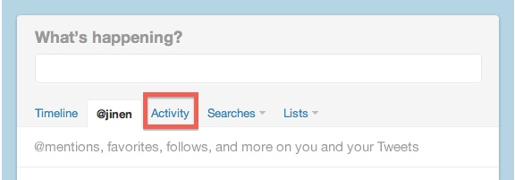 Twitter integra la opción Activity en su versión web - Activity-retweet