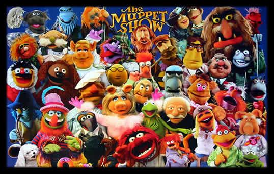 Los muppets México es el país que mas busca a Los Muppets