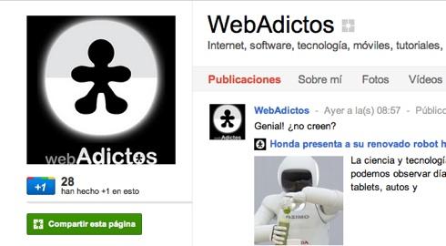 Cómo hacer una página en Google+ - WebAdictos_-Google+