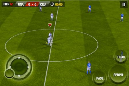 FIFA 12 para iOS, un juego para los amantes del fútbol [Reseña] - controles-fifa-12-ios