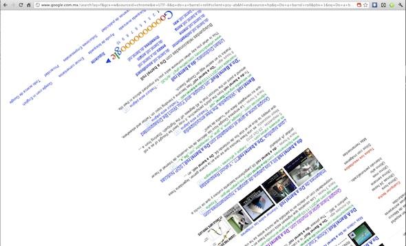 "Google gira al mundo con ""Do a Barrel Roll"" - do-a-barrel-roll"