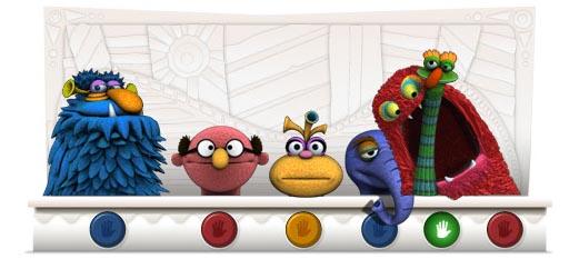 México es el país que mas busca a Los Muppets - doodle-henson