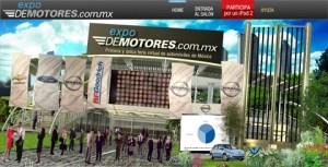 La primera feria virtual de autos en México, Expo DeMotores