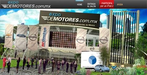 La primera feria virtual de autos en México, Expo DeMotores - feria-virtual-autos-mexico