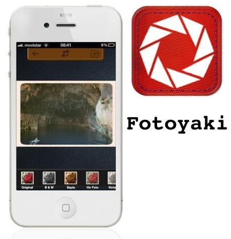 Fotoyaki, una app con efectos muy básicos para tus fotos en tu iPhone/iPod [Reseña]