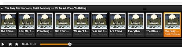 Grooveshark reinventa su interfaz y se consolida como uno de los mejores servicios musicales gratuitos - grooveshark-barra