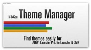 N3xGen Theme Manager, descarga y organiza temas para tu Android