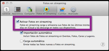 Como Restablecer Photostream y eliminar las fotografías de iCloud y tus dispositivos - photostream-iphoto
