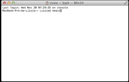 """Como jugar el clásico juego de """"Snake"""" en la terminal de Mac OS X - terminal"""