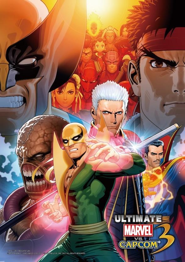 Capcom publica el video completo introductorio de Ultimate Marvel Vs Capcom 3 - ultimate-marvel-vs-capcom